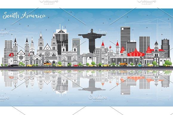 South America Skyline