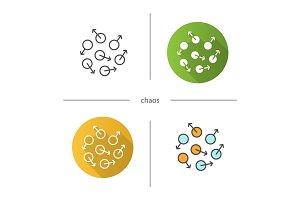 Chaos symbol icon