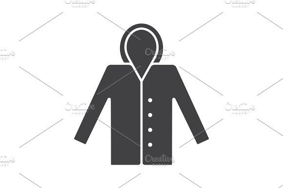 Raincoat Glyph Icon