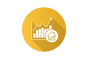 Real estate market growth chart