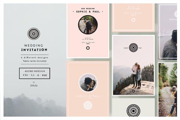 Wedding Invitation Wedding Templates Creative Market