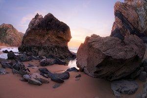 Rocky coastlines