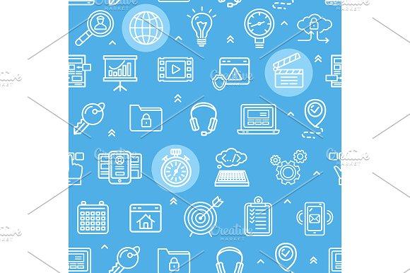 Search Engine Seo Pattern