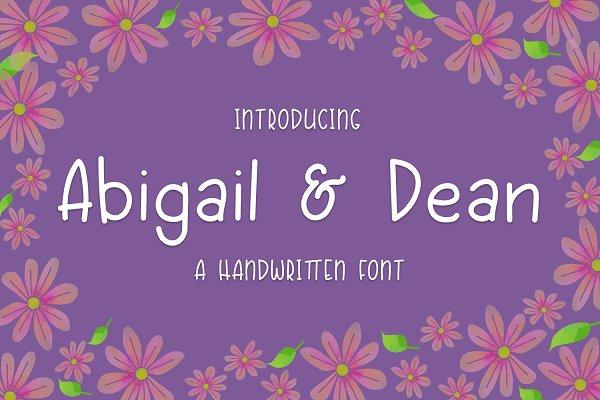 Abigail & Dean