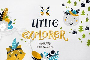 Little explorer - woodland animals