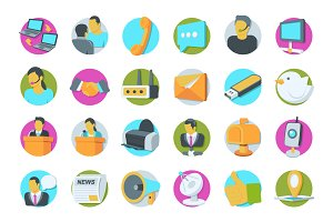 69 Network and Communication Icons