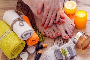 SPA and manicure