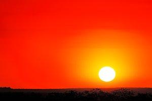 African sunset - Kruger Park