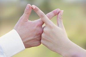 Infinity hands
