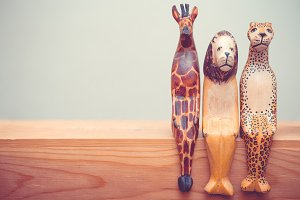 Wooden animals # 2