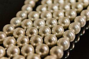 Plastic pearls