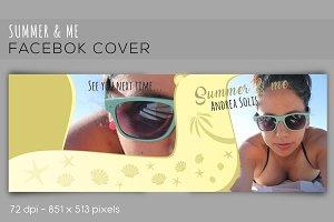 Facebook cover Summer