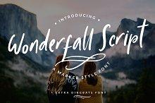 Wonderfall Script + Dingbats