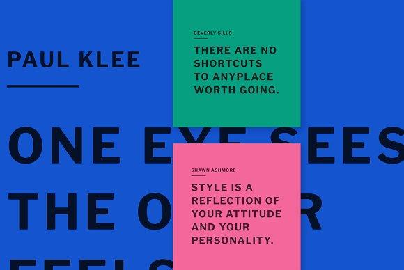 Color Quotes Social Media Kit Instagram Templates Creative Market