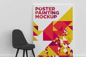Poster Painting MockUp 001