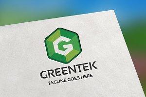 Greentek (Letter G) Logo