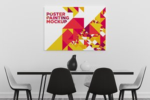 Poster Painting MockUp 003