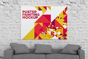 Poster Painting MockUp 004