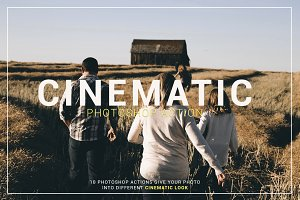 Cinematic Photoshop Action