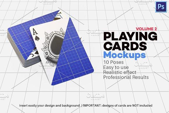 Download Playing Cards Mock-up V.2