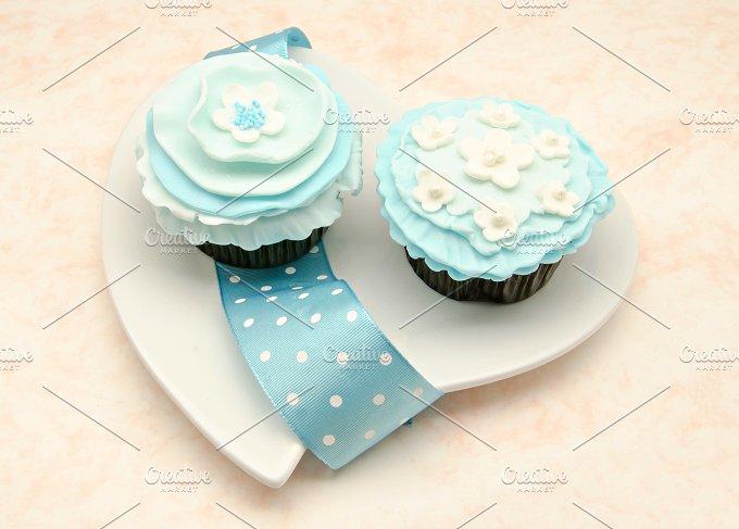 cupcakes vintage corazon (11).jpg - Food & Drink