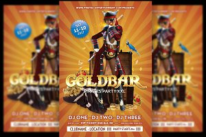 Pirates Flyer Goldbar