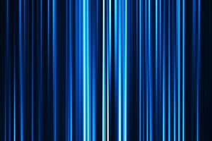 Horizontal blue curtain abstract background