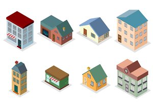 house street isometric