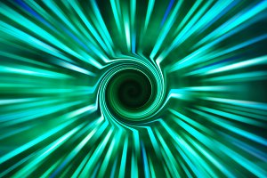 Horizontal space teleport swirl abstraction background