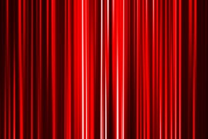 Horizontal red curtain abstract background