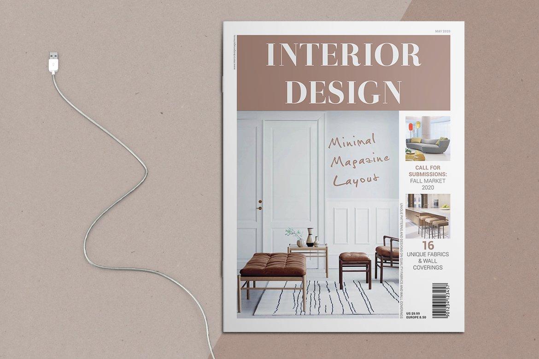 Interior Design Magazine Creative Indesign Templates Creative Market