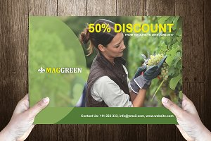 Greenvo Post Card Template