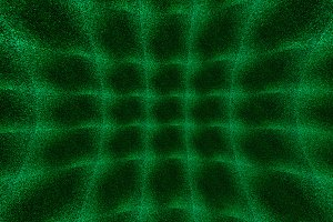 Green curved 3d space noise textured background