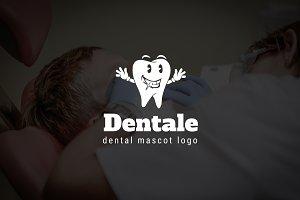 Dentale : Dental Mascot Logo