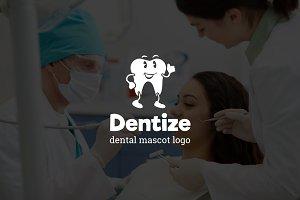 Dentize : Dental Mascot Logo