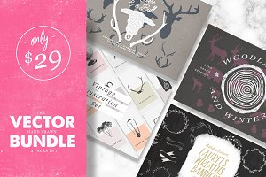 Vector Hand Drawn Bundle