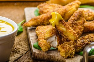 Corn crusted Chicken Tenders
