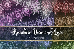 Rainbow Diamond Lace