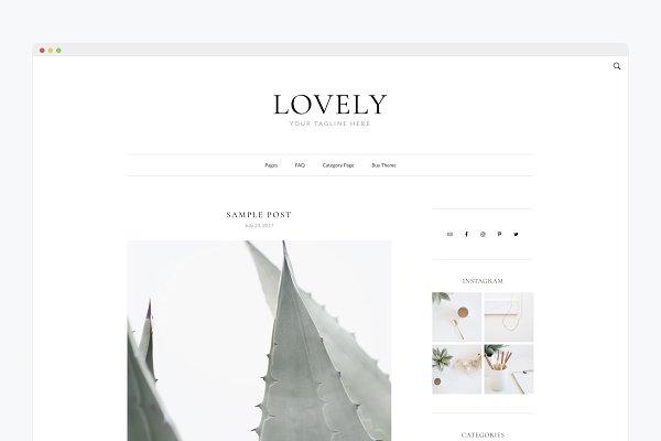 cute WordPress theme