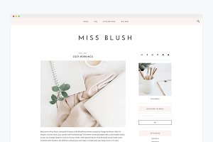 Responsive Wordpress Theme- Blush