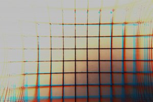 Horizontal vintage tv grid illustration background