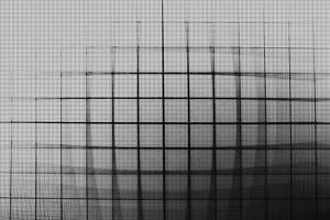 Horizontal vintage tv grid illustration background