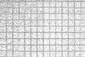 Horizontal black and white grid illustration background