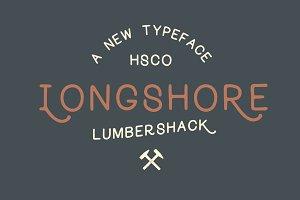 Longshore - Hand Drawn Font