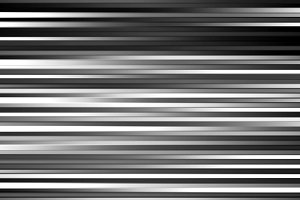 Horizontal black and white lines motion blur abstract backdrop