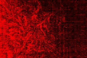 Horizontal red extruded illustration background