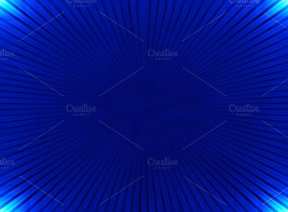 Blue Teleport Blast Illustration Background