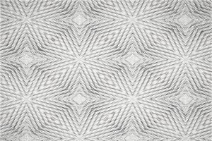Horizontal black and white pencil pattern illustration