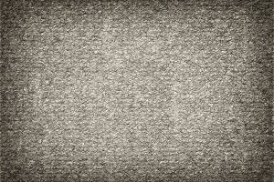 Horizontal black and white thick felt illustration