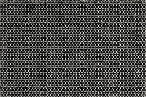 Black and white carbon metal texture
